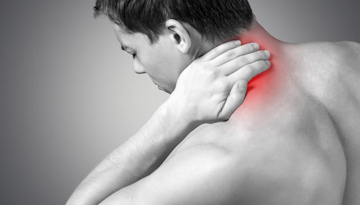 Minska nackstelhet med massagebollar