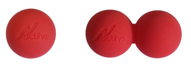 Massagebollarnas användning - Underben och fot