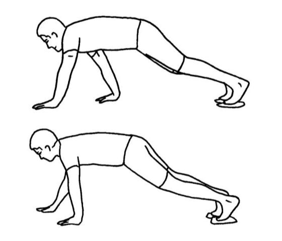 Dead leg pull/push