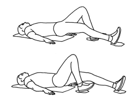 Alternerande hamstringscurl