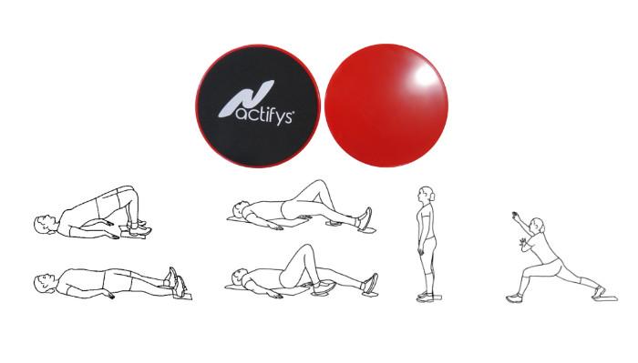 Hamstringsträning med Core Slider