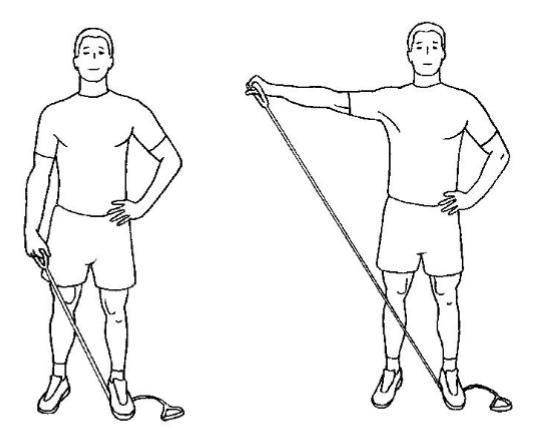 Övning 5: Armlyft åt sidan