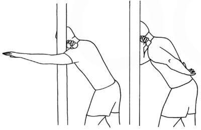 Massage nedre nacken och övre skuldran